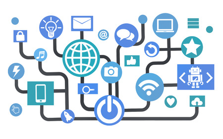 internet connection: Global Communications Social Networking Connection Internet Online Concept