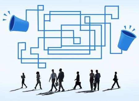transmit: Communication Connection Telecommunication Telephone Transmit Concept Stock Photo