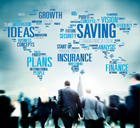 other world: Saving Insurance Plans Ideas Finance Growth Analysis Concept