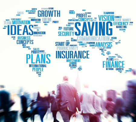 people travelling: Saving Insurance Plans Ideas Finance Growth Analysis Concept
