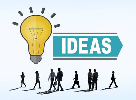 aspirations ideas: Aspirations Ideas Thinking Innovation Vision Strategy Concept