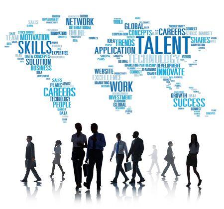 expertise: Talent Expertise Genius Skills Professional Concept