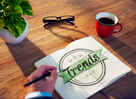 mania: Businessman Brainstorming About Trends