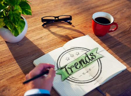 craze: Businessman Brainstorming About Trends
