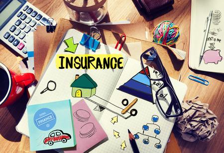 Garantie Life Insurance Risk Protection veiligheid Concept
