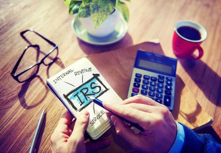 Internatl Revenue Service IRS Finance Taxation Government Concept photo