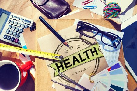 workplace wellness: Health Healthcare Disease Wellness Life Concept Stock Photo
