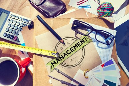 authoritarian: Management Manager Trainer Director Role Model Concept