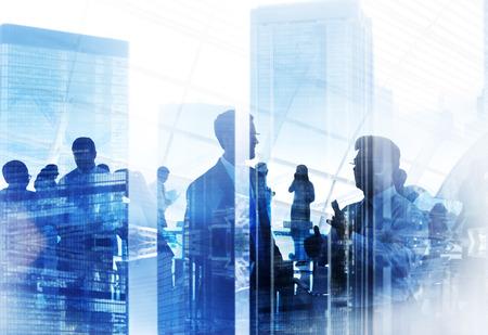 ビジネス人々 会議会議セミナー戦略コンセプトを共有 写真素材