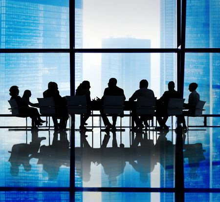 reuniones empresariales: Personas de negocios Reuni�n Oficina Concepto