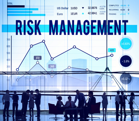 Risk Management Insurance Protection Safety Concept Stock Photo
