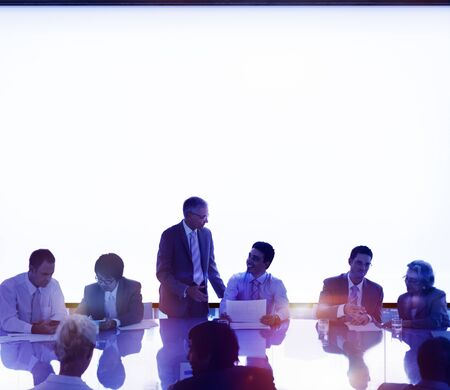 Business People Meeting Brainstorming Team Concept Stock Photo
