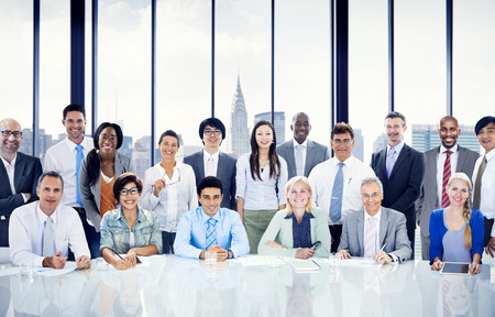 workplace: Business People Meeting Team Concept Stock Photo