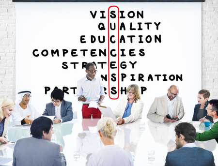competencies: Success Goal Target Victory Strategy Vision Concept