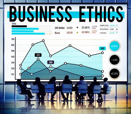 ethnics: Business Ethnics Honesty Policies Progress Concept Stock Photo