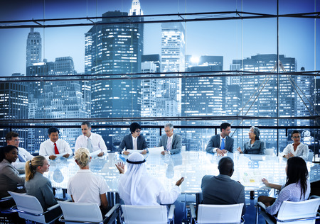 african business people: Business People Meeting Room Conversation Team Working Concept
