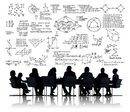 Formula Mathematics Equation Mathematical Symbol Geometry Information Concept Stock Photo