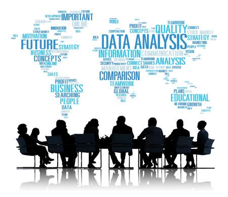 Data Analysis Analytics Comparison Information Networking Concept photo