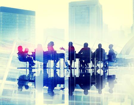 estrategia: Seminario Conferencia Gente de negocios Reuni�n Sharing Estrategia Concepto