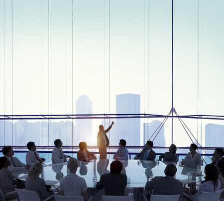 Meeting Room Business Meeting leiderschap concept