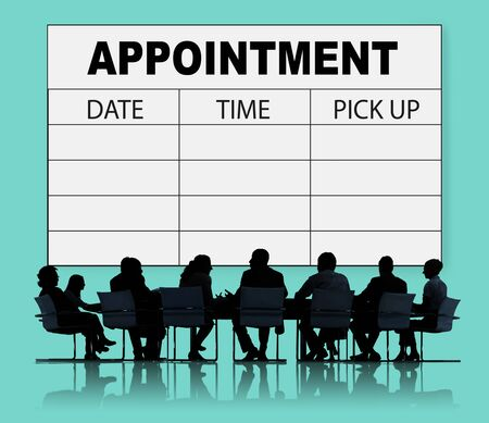 Appointment Schedule Memo Management Organizer Urgency Concept photo