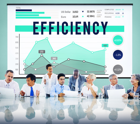 Efficiency Productivity Improvement Concept