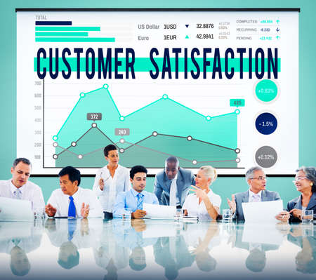 Customer Satisfaction Support Service Reliable Concept photo