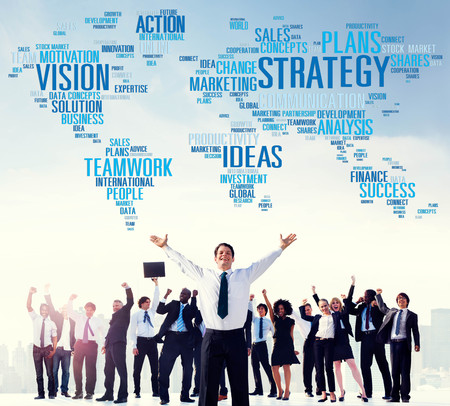 Strategy Action Vision Ideas Analysis Finance Success Concept photo