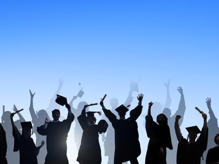 概念の学習の祭典教育卒業学生の成功 写真素材 - 41338312