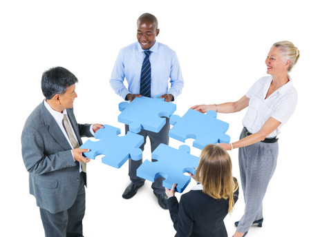 partnership strategy: Corporate Business People Teamwork Support Partnership Concept