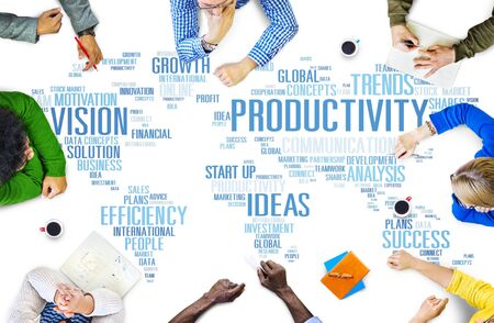 mision: Misi�n Estrategia Productividad Empresarial Mundial Vision Concept