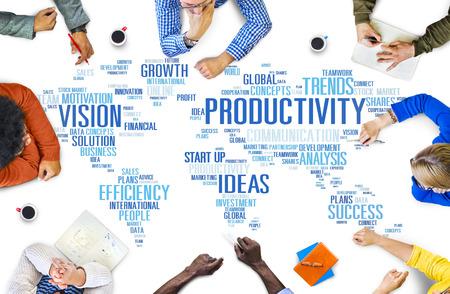 생산성 선교 전략 비즈니스 월드 비전 개념