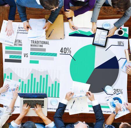 digital marketing: Digital Marketing Planning Strategy Growth Success Concept