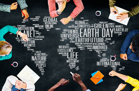 university life: Earth Day Environment Global Growth Conservation Concept