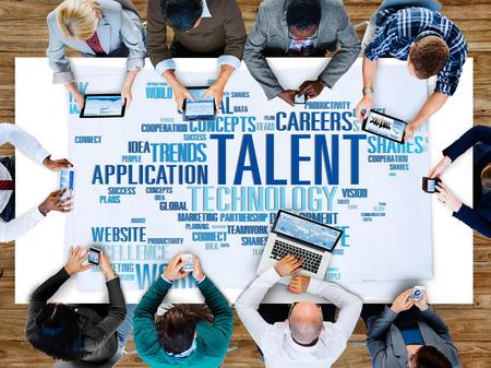 Talent Expertise Genius Skills Professional Concept Banco de Imagens - 41337295