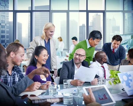trabajo en equipo: Gente de negocios equipo de trabajo en equipo Cooperación, Oficio Concept