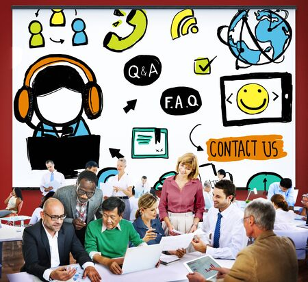 customer support: Customer Service Support Solution Assistance Aid Concept