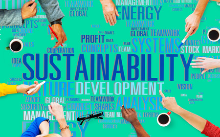 Sustainability Environmental Conservation Ecology Concept Standard-Bild
