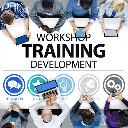 professional occupations: Workshop Training Teaching Development Instruction Concept