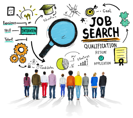 people searching: Ethnicity Business People Searching Job Search Recruitment Concept