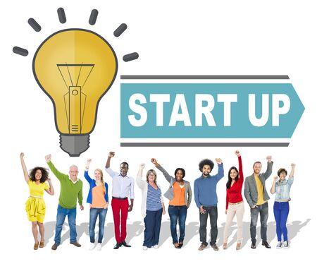 Start up ideas concept