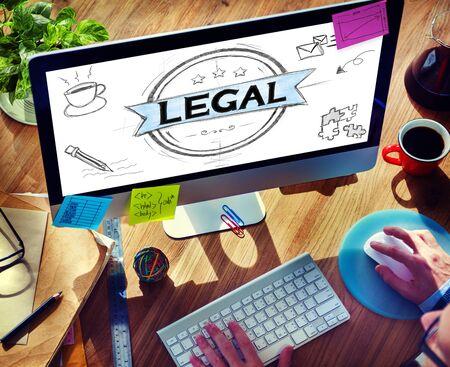 Legal Legalisation Laws Justice Ethical Concept photo