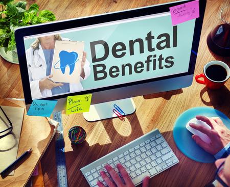 dental insurance: Dental Plan Benefits Dentist Medical Healthcare Hygiene Concept
