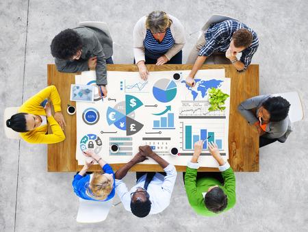 金融金融ビジネス経済交流会計銀行コンセプト 写真素材