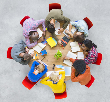 tried: Diversity Meeting People Ideas Team Tried Asleep Concept