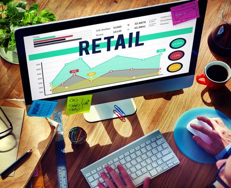 retail: Retail Commerce Sale Selling Business Concept