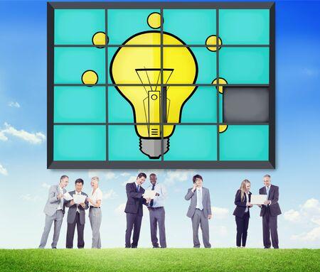 creativity: Ideas Puzzle Problem Solving Inspiration Creativity Concept