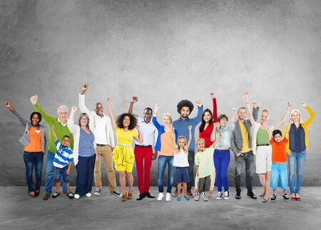 ethnic people: Diverse Diversity Ethnic Ethnicity Unity Variation Concept Stock Photo
