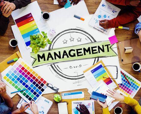 r�le: Responsable Gestion Formateur Directeur Role Model Concept Banque d'images
