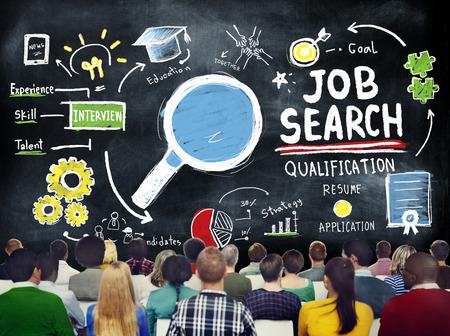 Ethnicity Business Peolple Seminar Job Search Strategy Concept photo